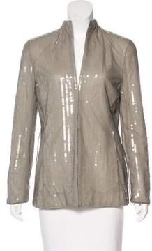 Akris Sequined-Embellished Blazer