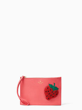 Kate Spade Strawberry mini leather wristlet - WATERMELON - STYLE