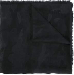 Valentino camouflage scarf