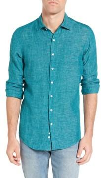 Rodd & Gunn Men's Norsewood Sports Fit Linen Sport Shirt