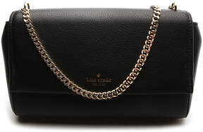 Kate Spade Black Greer Atwood Place Leather Clutch