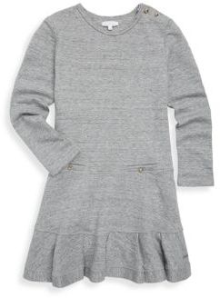 Chloé Little Girl's & Girl's Flared Crewneck Dress