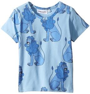 Mini Rodini Lion Short Sleeve Tee Boy's T Shirt