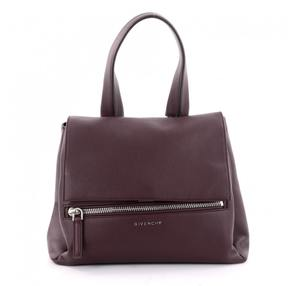 Givenchy Red Leather Handbag