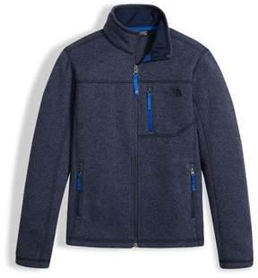 The North Face Gordon Lyons Full-Zip Jacket, Navy, Boys' Size XXS-XL