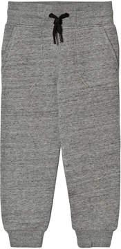 DKNY Grey Marl Branded Sweatpants