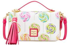 Dooney & Bourke Swirl Lollipop Willis Clutch Sammi Tassel Wallet - WHITE - STYLE