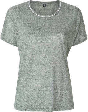 Eleventy contrast piping T-shirt