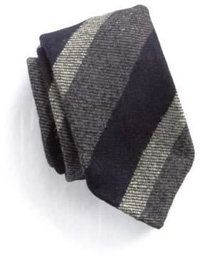 Drakes Drake's Wool Stripe Tie