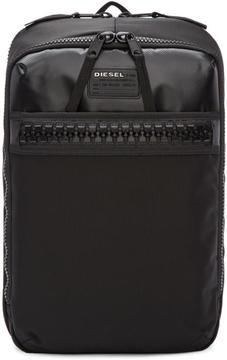 Diesel Black F-ZIIIP-IT Backpack