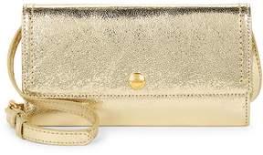 Cole Haan Women's Benson II Leather Wallet On Chain