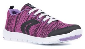 Geox Toddler Girl's Xunday Performance Knit Low Top Sneaker