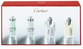 Cartier Four-Piece Masculine Miniature Fragrance Gift Set