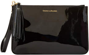 Dooney & Bourke Patent Leather Carrington Wristlet