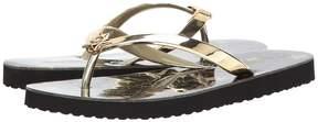 MICHAEL Michael Kors MK Star Flip-Flop Shiny Women's Sandals