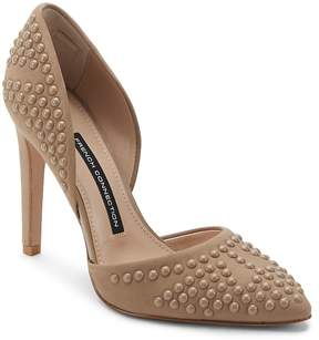 French Connection Women's Maggie Studded Leather Pumps