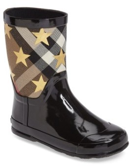 Burberry Toddler Girl's Ranmoor Star Rain Boot
