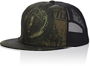 Givenchy GIVENCHY MEN'S ABSTRACT-DOLLAR-BILL-PRINT TRUCKER HAT