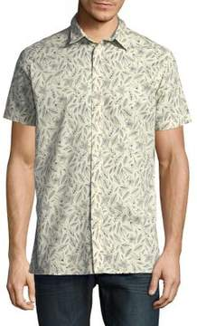 Selected Karl Floral Cotton Button-Down Shirt