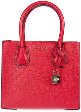 Michael Kors Mercer Grained Shoulder Bag - BRIGHT RED - STYLE