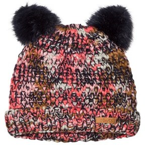 Barts Navy Knitted Side Pom Pom Joy Beanie