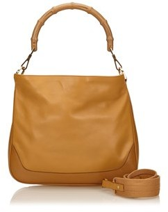 Gucci Pre-owned: Leather Bamboo Handbag. - BROWN - STYLE