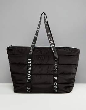 Fiorelli Sport Puffer Padded Carryall Bag in Black