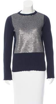 Cédric Charlier Sequined Wool Sweater