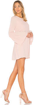 BCBGeneration Smocked Sleeve Shift Dress