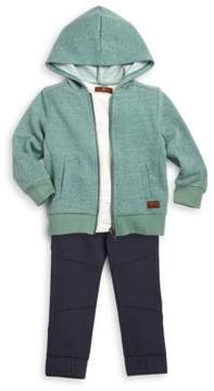 7 For All Mankind Baby & Little Boy'sThree-Piece Jacket, Tee and Pants Set