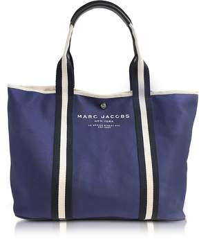 Marc Jacobs Midnight Blue Canvas EW Tote - ONE COLOR - STYLE