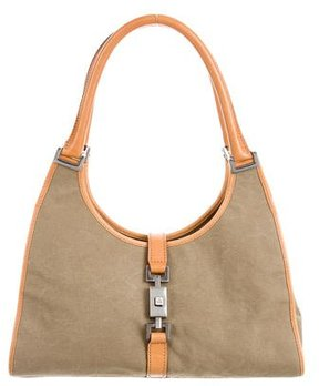 Gucci Small Bardot Bag - BROWN - STYLE
