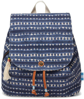 Toms Batik Canvas Backpack