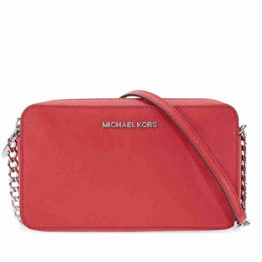 Michael Kors Jet Set Travel Medium Crossbody - Bright Red - REDS - STYLE