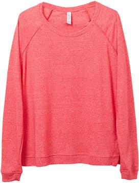 Alternative Apparel Locker Room Eco-Mock Twist Pullover