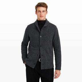 Club Monaco Wool Shawl Collar Sweater