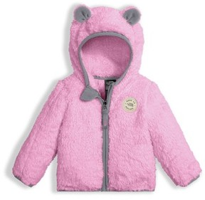 The North Face Infant Girl's Plushee Bear Zip Hoodie