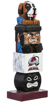 Evergreen Colorado Avalanche Tiki Totem