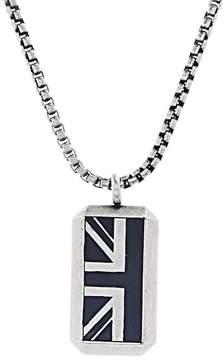 Ben Sherman British Flag Pendant Necklace