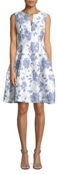 Eliza J Sleeveless Fit-and-Flare Dress