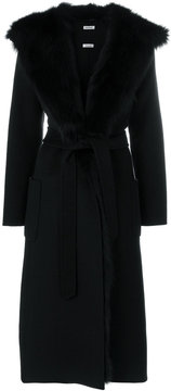 P.A.R.O.S.H. belted wrap coat