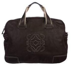 Loewe Leather Logo Satchel