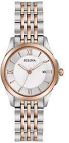 Bulova Ladies' Classic Two-tone Bracelet Watch