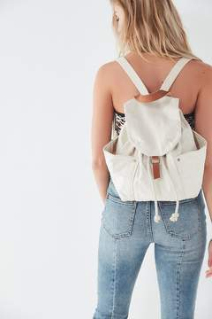 Urban Outfitters Washed Canvas Drawstring Backpack