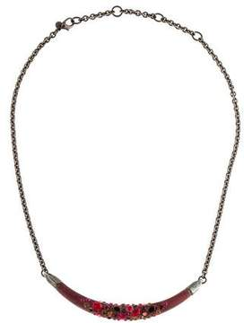 Alexis Bittar Lucite Crystal Necklace