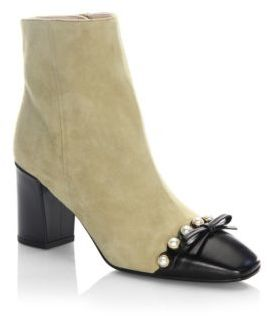 Kate Spade Orton Amaretto Leather Bootie