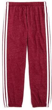 Spiritual Gangster Girls' Varsity Stripe Sweatpants - Little Kid
