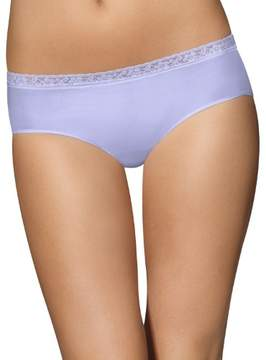 Bali Women's Comfort Revolution Seamless Lace Hipster Panty 2651