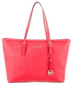 Michael Kors Grained Leather Tote