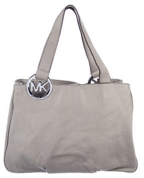 MICHAEL Michael Kors Pebbled Leather Shoulder Bag